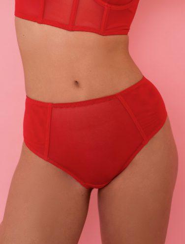 high-waisted panties
