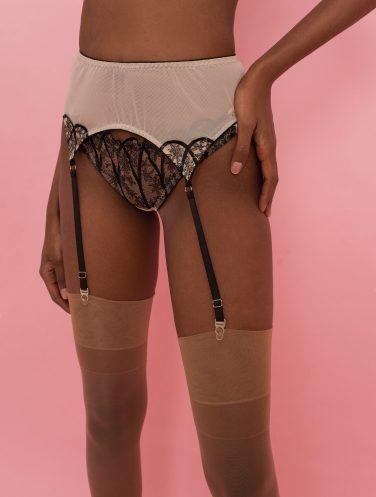 lace garter belt
